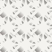 Vector seamless pattern of lines - stock illustration