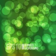 Bright vector background with bokeh effect - stock illustration