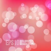 Bright vector background with bokeh effect Stock Illustration