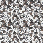 Vector seamless pattern in the form of a variety of tiles - stock illustration