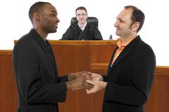 Judge Supporting Gay Marriage Stock Photos