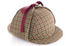 British Deerhunter or Sherlock Holmes cap - stock photo