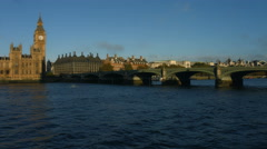 Houses of Parliament, Big Ben and Westminster Bridge in 4K 26 Stock Footage