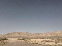 Vintage Stylized Pan of Arizona Desert Stock Video Stock Footage