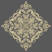 Damask  Orient Pattern Stock Illustration