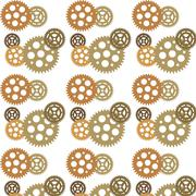 Stock Illustration of Abstract background ornament geometric vintage seamless