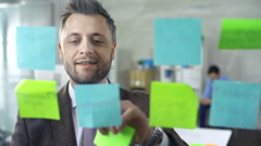 Post It - stock footage