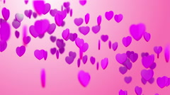 Heart Particles 01 Stock Footage