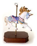 Colorful Carousel Horse Stock Photos