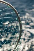 Close Up Fishing Net Stock Photos