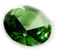 Emerald Green Faceted Gemstone Stock Photos