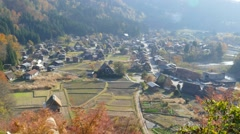 Shirakawa-go, Japan Stock Footage