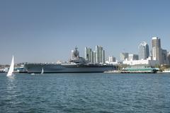 USS Midway - stock photo