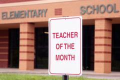 Elementary School Teacher of the Month Kuvituskuvat