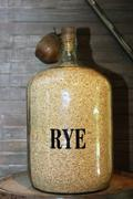 Rye grain - stock photo