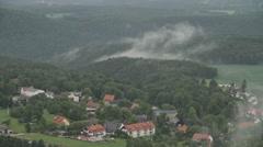 Landscape In Germany Saxon Switzerland - stock footage