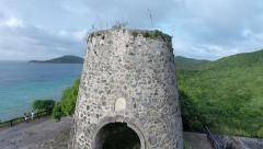 Old Buildings of Antigua Stock Footage