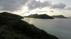 Sunset of Antigua Stock Footage