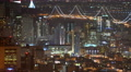 4K San Francisco Timelapse Cityscape 18 Downtown and Bay Bridge Footage