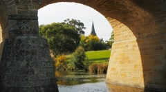 Richmond bridge close up Stock Footage