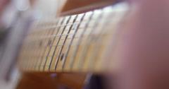 Fender guitar riff - stock footage