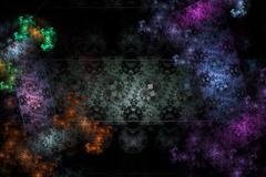 Galactic Jigsaw - stock illustration