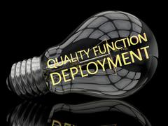 Stock Illustration of Quality Function Deployment