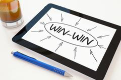 Stock Illustration of Win-Win