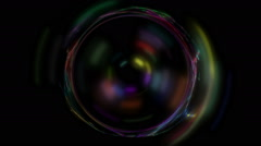 Optical vortex - stock footage