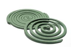 mosquito coil - stock photo