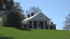 Fredericksburg Virginia Brompton Marye House 4K Stock Footage