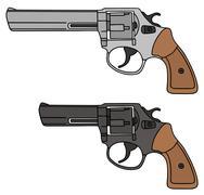 Revolvers Stock Illustration