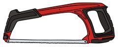 Red saw Stock Illustration