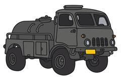Old military tank truck Piirros