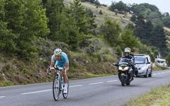 The Cyclist Enrico Gasparotto - Tour de France 2013 Stock Photos