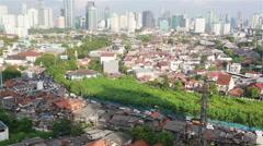 Jakarta roads Stock Footage