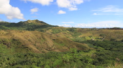 Southern Mountains  of GUAM, USA Stock Footage