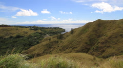 Scenic Outlook in GUAM, USA Stock Footage