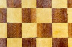 vintage chessboard - stock photo