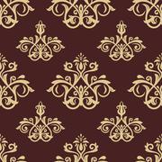 Seamless Orient  Background Stock Illustration