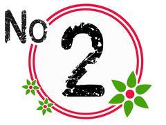Stock Illustration of Chart Countdown No 2
