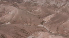 Aerial of Israel Wilderness, ISRAEL Stock Footage