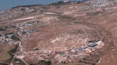 Aerial of Mount of Olives,  Jerusalem, ISRAEL Stock Footage