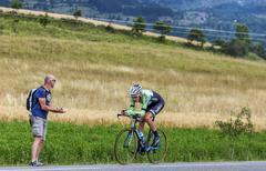 The Cyclist Robert Gesink - Tour de France 2013 - stock photo