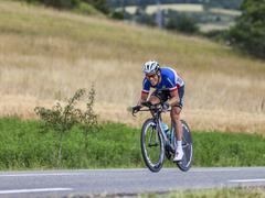 The Cyclist Sylvain Chavanel - Tour de France 2013 - stock photo