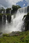 Salto Bossetti at the Iguazu Falls Stock Photos