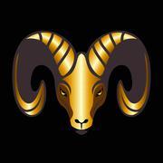 Goat Vector - stock illustration