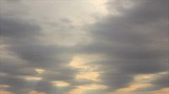 Cirrostratus on sky Stock Footage