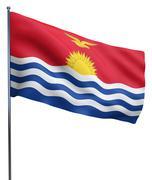 Stock Illustration of Kiribati Flag Image