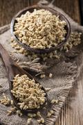 Dried Soy Meat - stock photo
